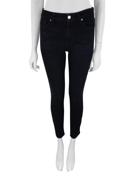 Calça Seven For All Mankind Mid Rise Ankle Skinny