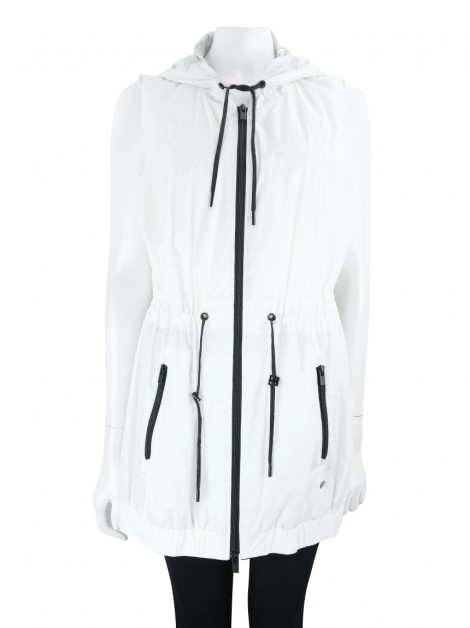 Colete DKNY Nylon Off white