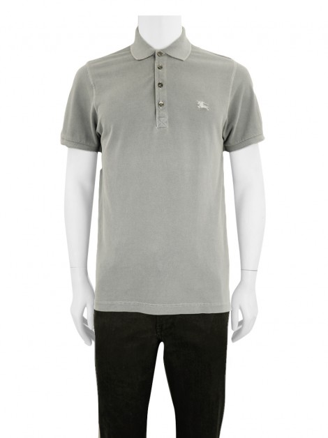 Blusa Burberry London Polo Bege Masculina