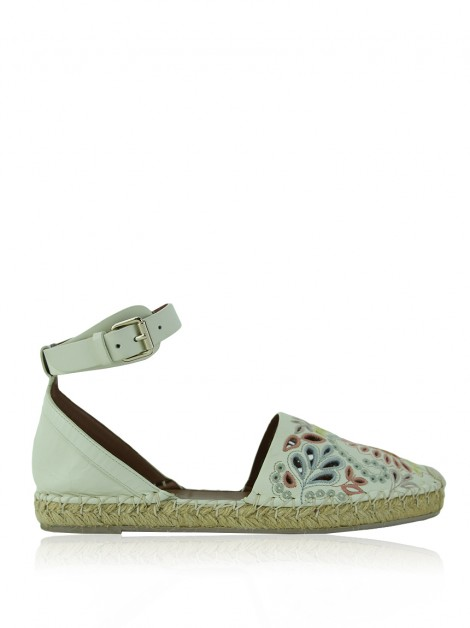 Espadrille Valentino A Jour Off-White