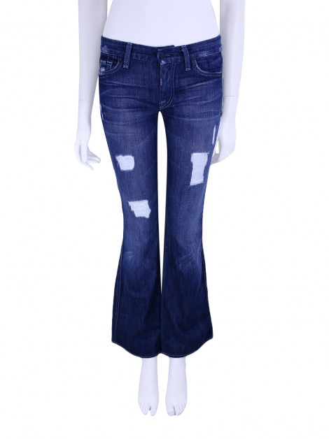 Calça Seven For All Mankind Jeans A Pocket Azul