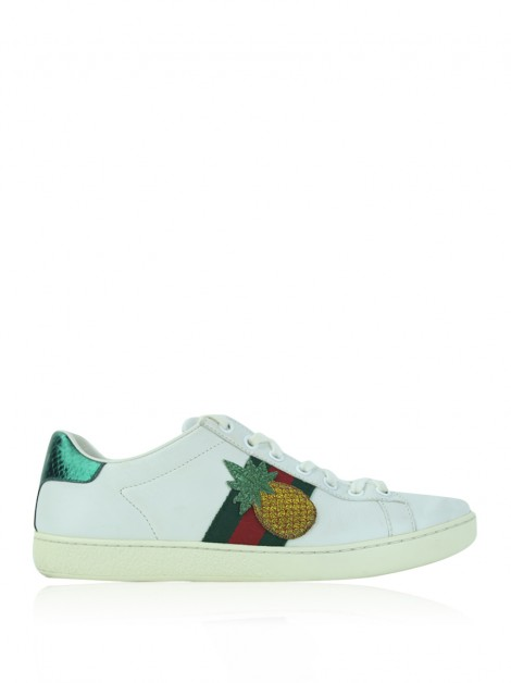 Tênis Gucci Ayers Ace Pineapple