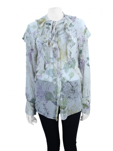 Camisa Animale Estampa Floral