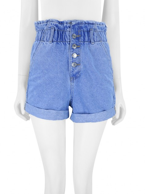 Shorts Zara High Denim