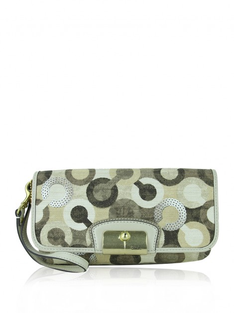 Bolsa Coach Kristin Graphic Op Art