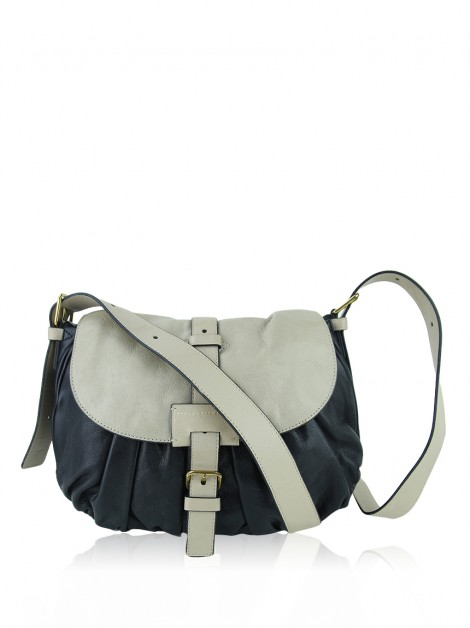 Bolsa Marc By Marc Jacobs Couro Bicolor