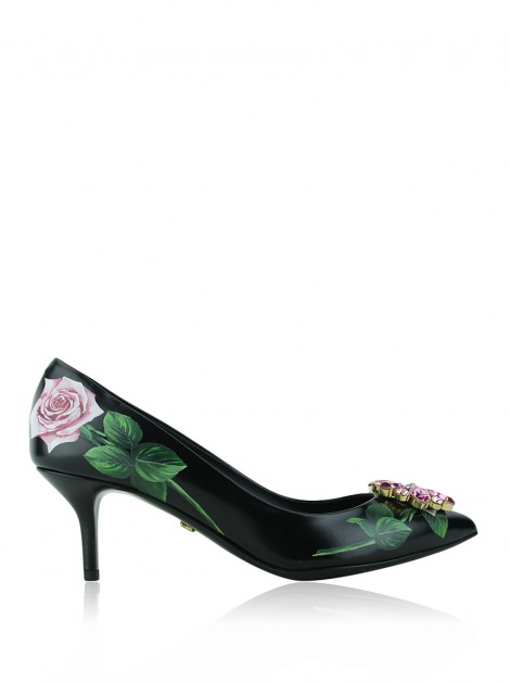 Sapato Dolce & Gabbana Tropical Rose