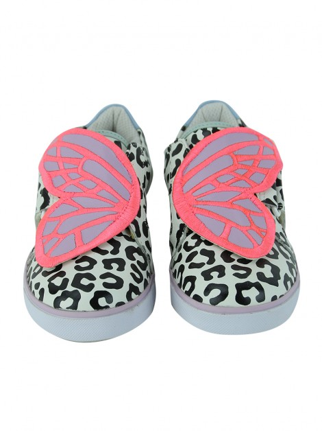 Tênis Sophia Webster Mini Bibi Low-Top Animal Print