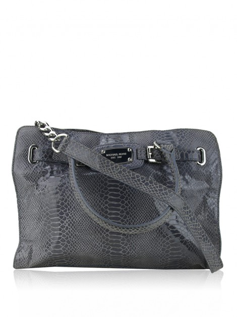 Bolsa Michael Kors East West Hamilton Cinza