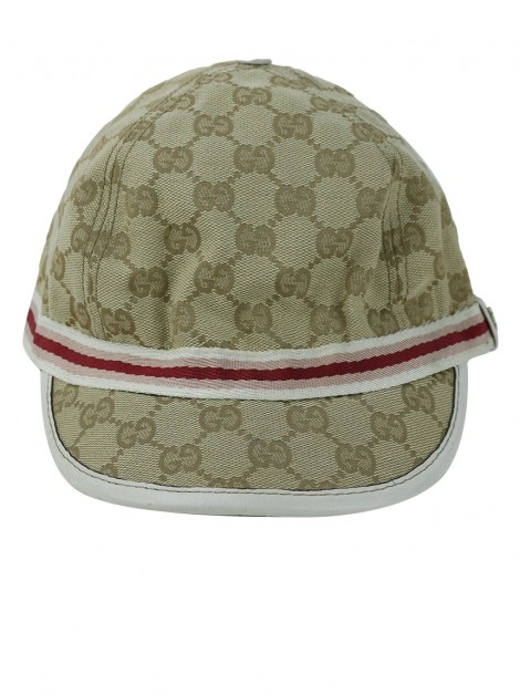 Boné Gucci Baseball GG Canvas