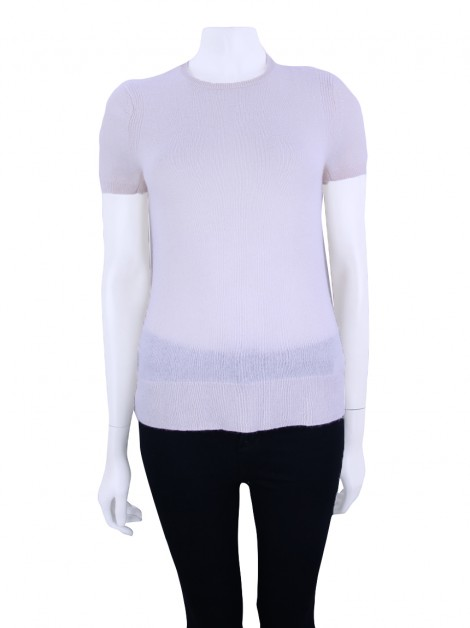 Blusa Saks Fifth Avenue Cashmere Whisper Rosa