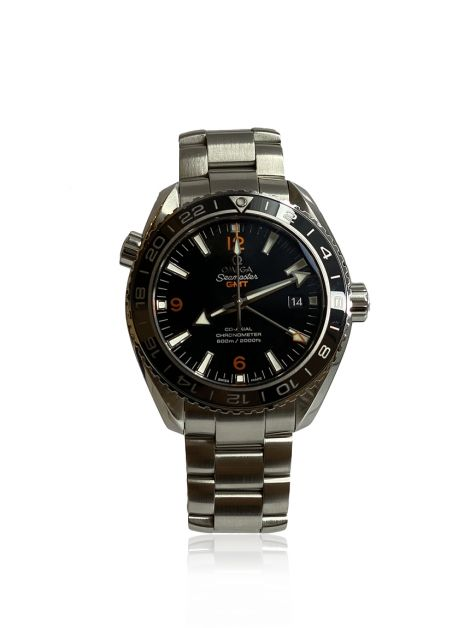 Relógio Omega Seamaster Co‑Axial Master Chronometer GMT