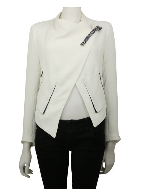 Casaco Helmut Lang for Intermix Branco