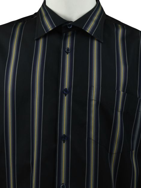 Camisa Paul Smith Preta Listrada Masculina