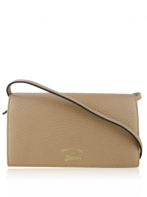 Bolsa Gucci Dollar Calfskin Swing Mini Wallet