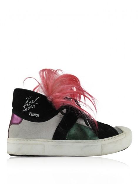 Tênis Fendi Karlito High Top