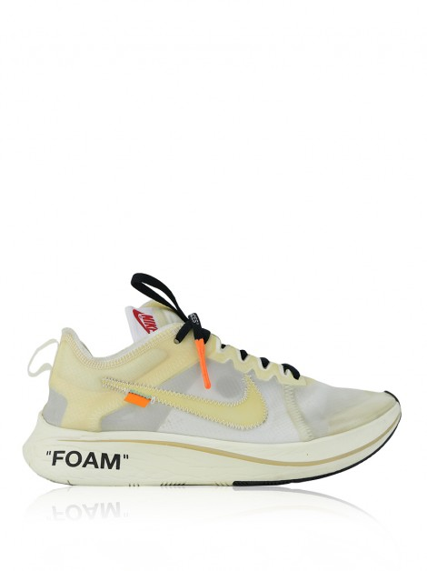 Tênis Off White x Nike The 10 : Nike Zoom Fly Branco