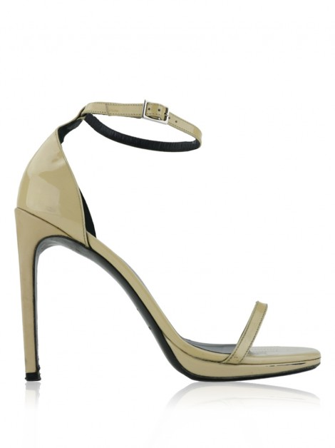 Sapato Yves Saint Laurent Jane Bege