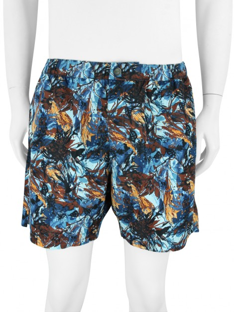 Shorts Hugo Boss Estampa Multicolor Masculino