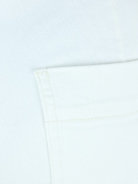 Calça Mixed Skinny Off White