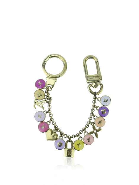 Bag Charm Louis Vuitton Pastilles Dourada