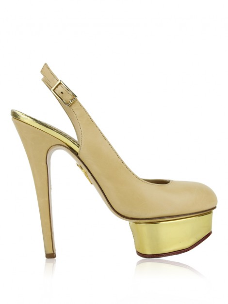 Sapato Charlotte Olympia Dolly Nude