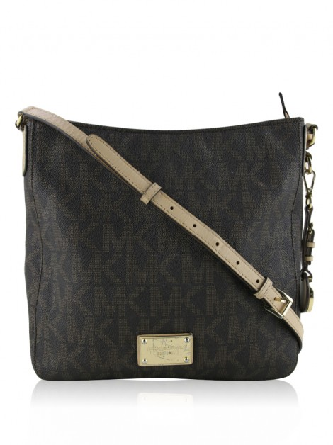 Bolsa Michael Kors Jet Set Crossbody Signature