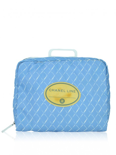 Pasta Chanel Travel Line Azul