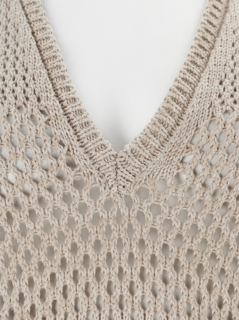 Blusa NK Store Tricot Nude
