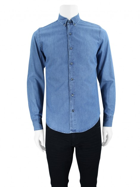 Camisa Seven For All Mankind Tecido Azul