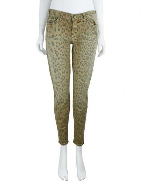 Calça Current Elliott The Stiletto Leopardo