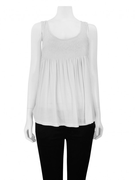 Blusa Cris Barros Off White