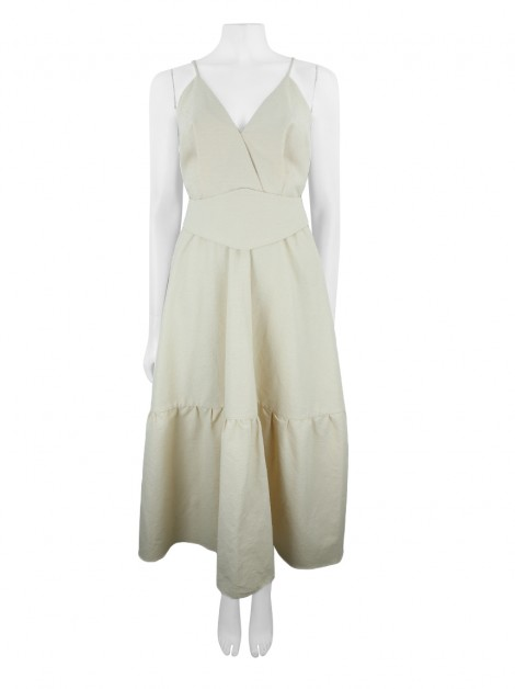 Vestido Paula Raia Beach Please Creme