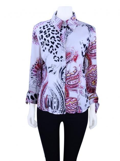 Camisa Just Cavalli Estampada