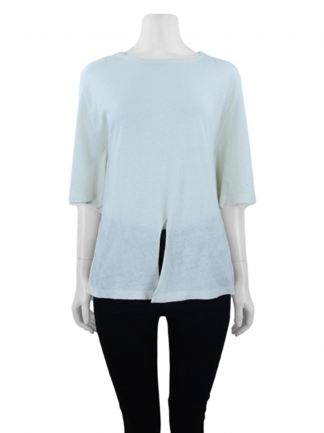 Blusa A. Niemeyer Tie Off White