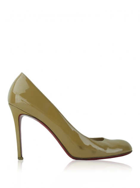 Sapato Christian Louboutin Simple 100 Bege