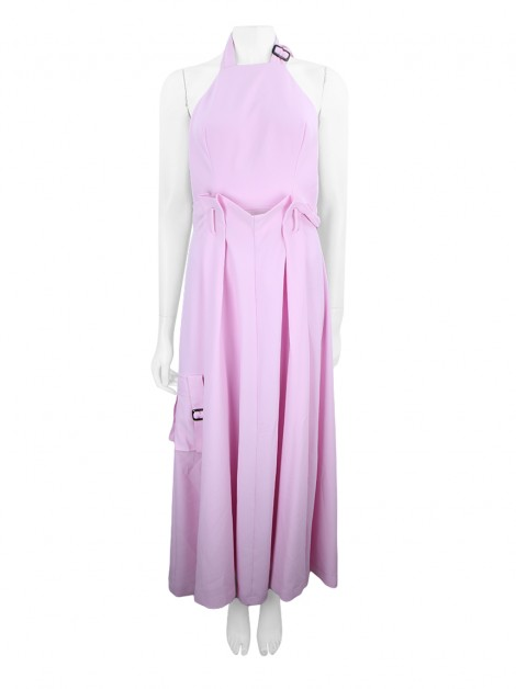 Vestido Achados do EU Hand Lace Buckle Rosa