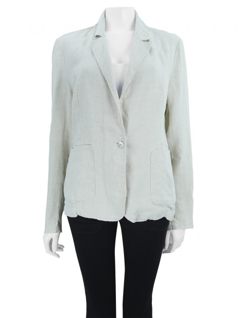 Blazer Richards Linho Off White