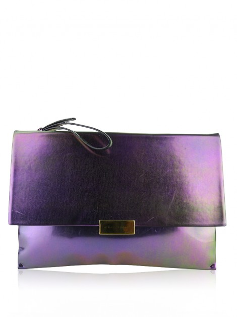 Clutch Stella Mccartney Beckett Iridescent Wristlet