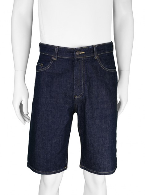 Bermuda Lacoste Relax Fit Jeans Azul Masculina