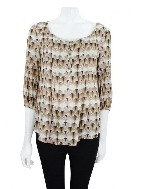 Blusa Missinclof Viscose Estampado