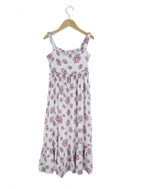 Vestido Mixed Kids Estampa Popcorn Infantil