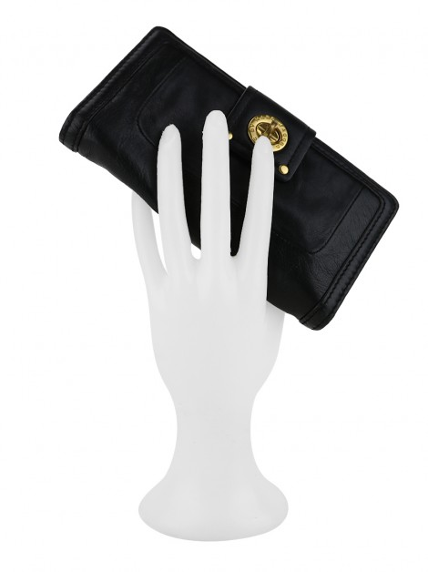 Carteira Marc By Marc Jacobs Totally Turnlock Preto