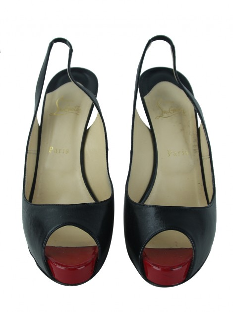 Sapato Christian Louboutin Very Prive 120 Kid