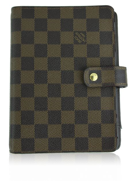 Agenda Louis Vuitton Canvas Damier Ebene
