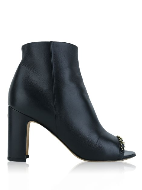 Ankle Boot Chanel Preto