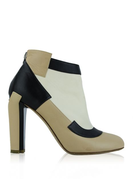 Ankle Boot Chanel Tricolor