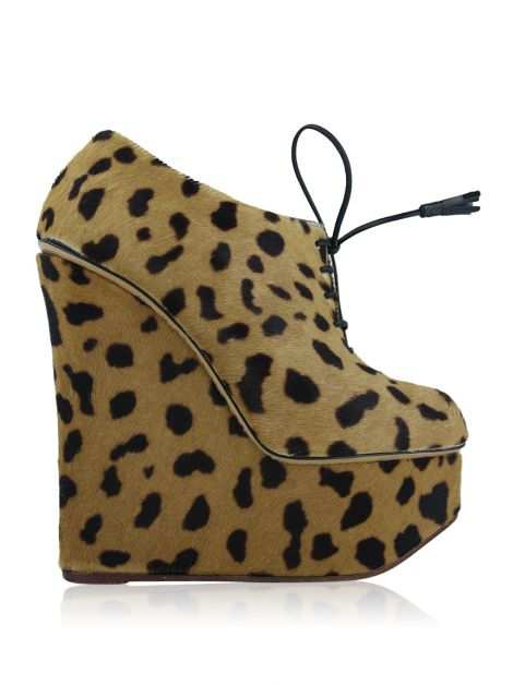 Ankle Boot Charlotte Olympia Martha Animal Print