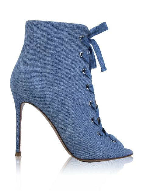 Ankle Boot Gianvito Rossi Marie Denim