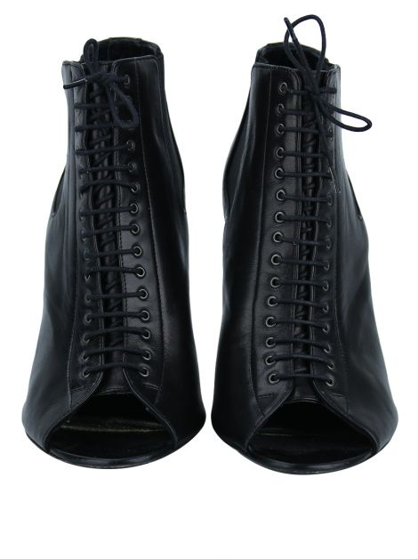 Ankle Boot Givenchy Couro Preto